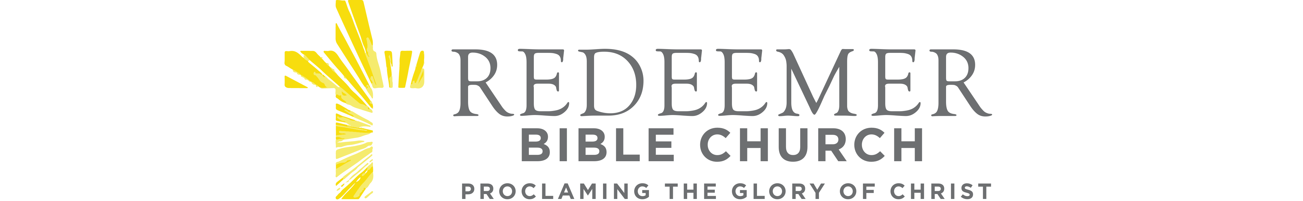 Redeemer Bible Church | Oceanside Footer Logo